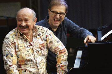 Michel Jonasz piano voix avec Jean-Yves D'Angelo