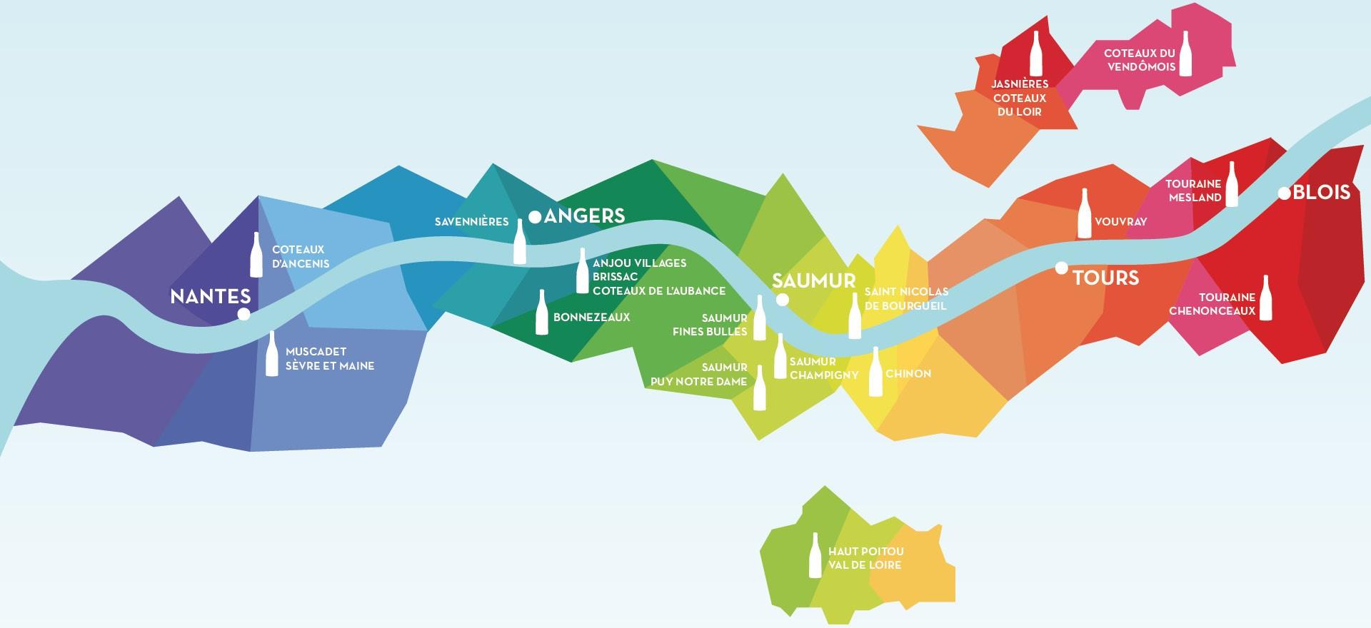 carte des randonnées VRR