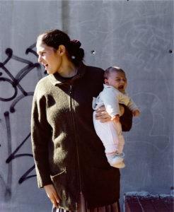 Monica, Barcelone, 2004