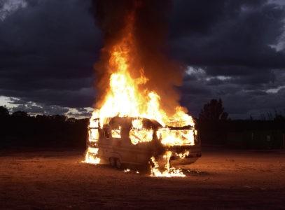 sans titre, série le feu, 2013