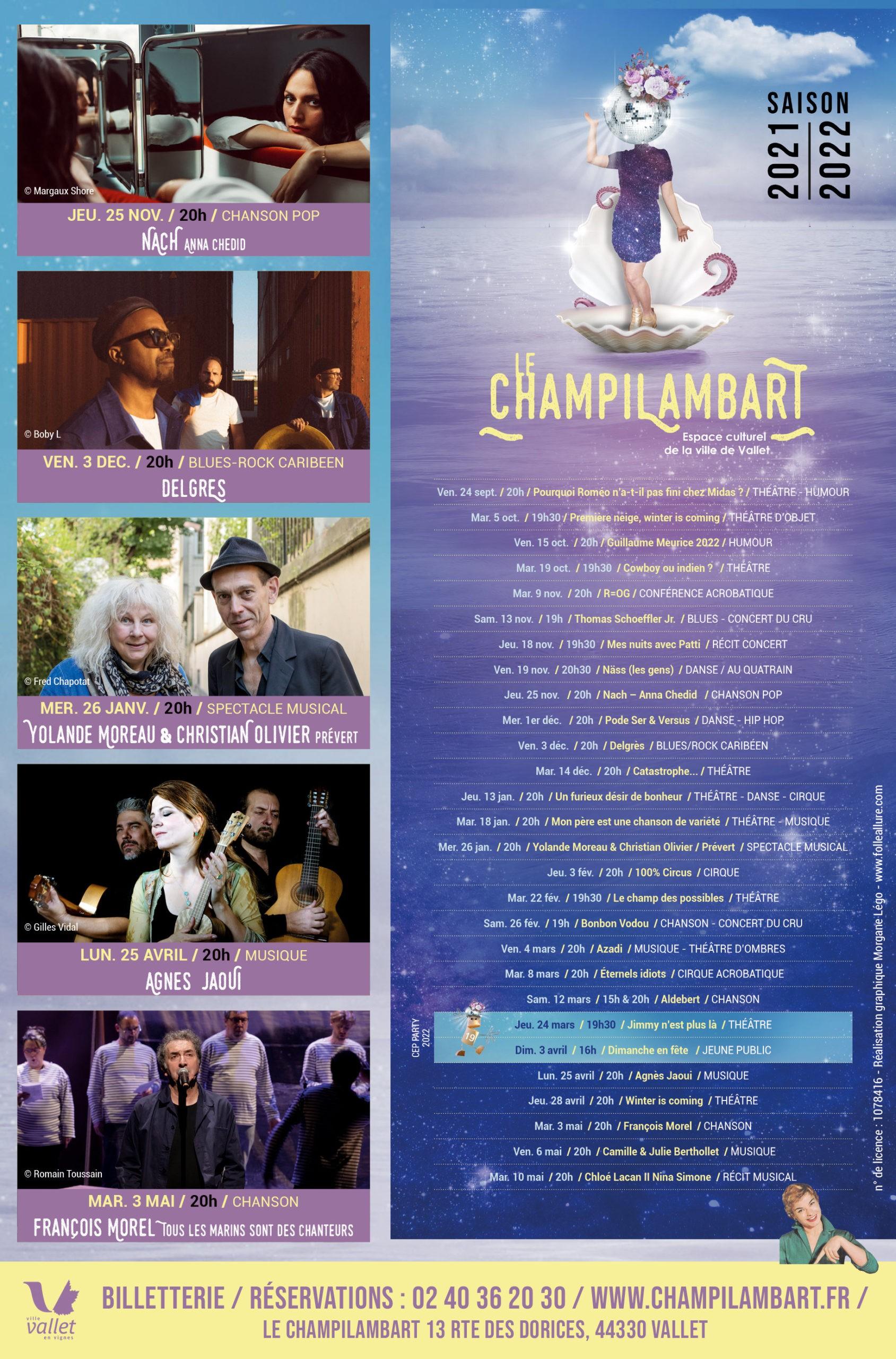 Programme 2021/2022 - Champilambart