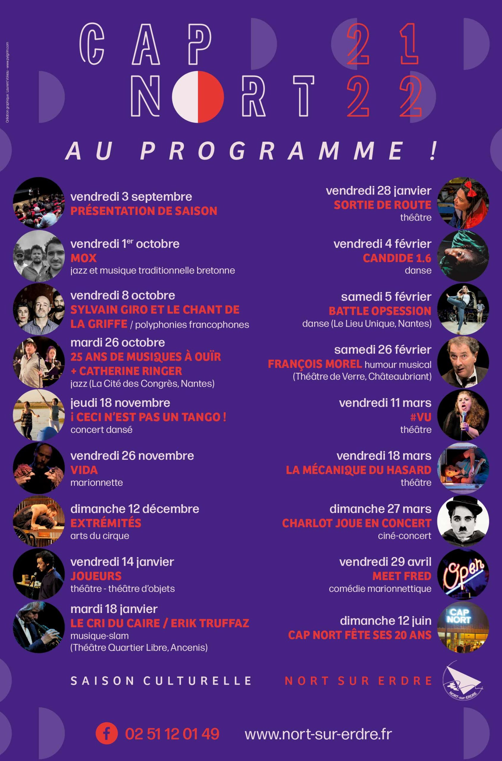 Programme 2021-2022 - Cap Nort